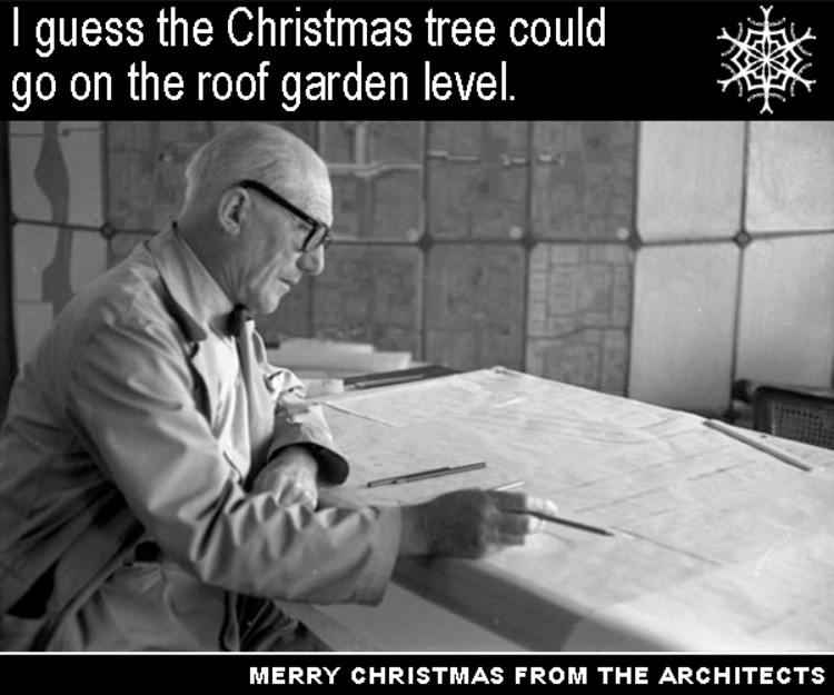 Christmas Cards From Famous Architects ArchDaily