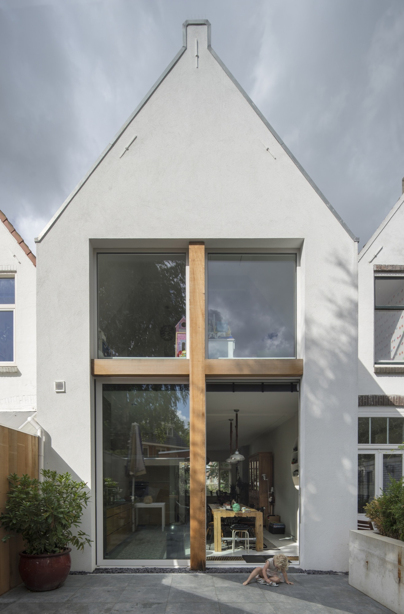 Stretched House Ruud Visser Architecten Archdaily