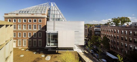Harvard Art Museums Renovation and Expansion. Image © Nic Lehoux