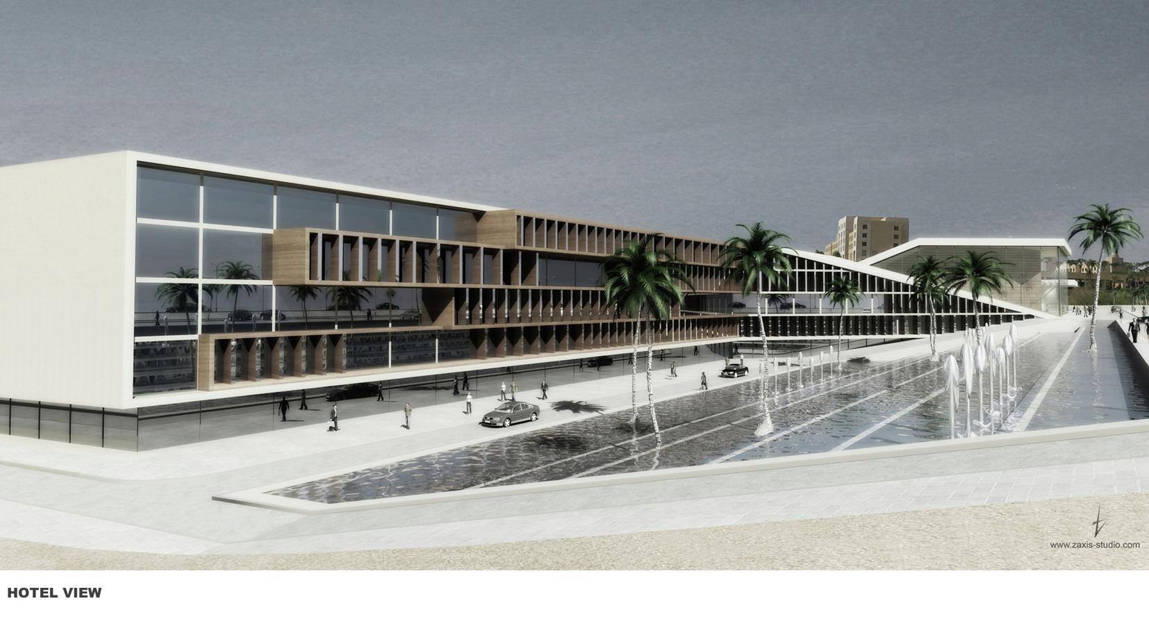 Dead Sea Resort & Opera House / Accent Design Group ...