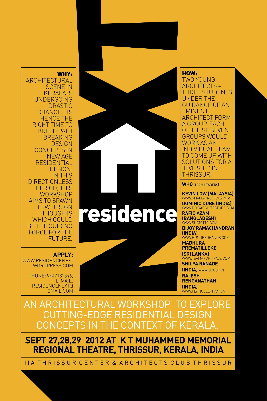 Residence Next International Design Workshop Archdaily