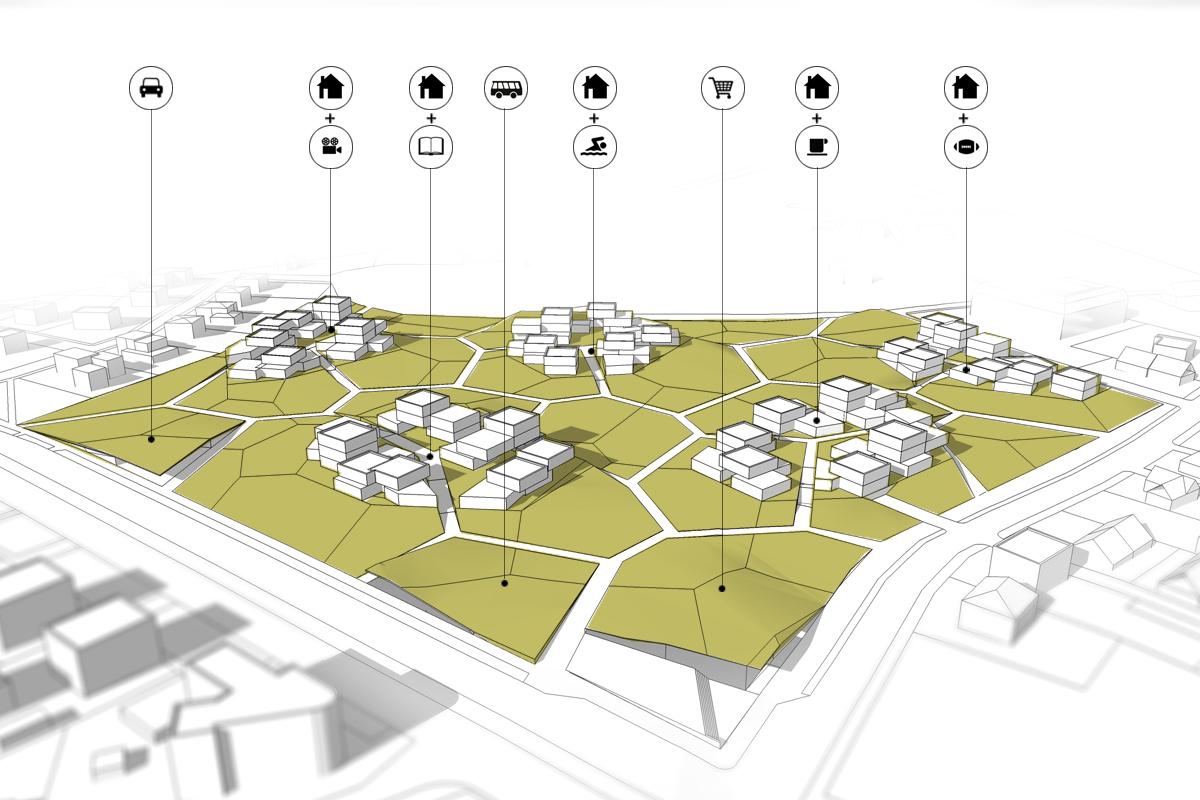 Gallery of Housing Estate Proposal  Mikolai Adamus & Igor