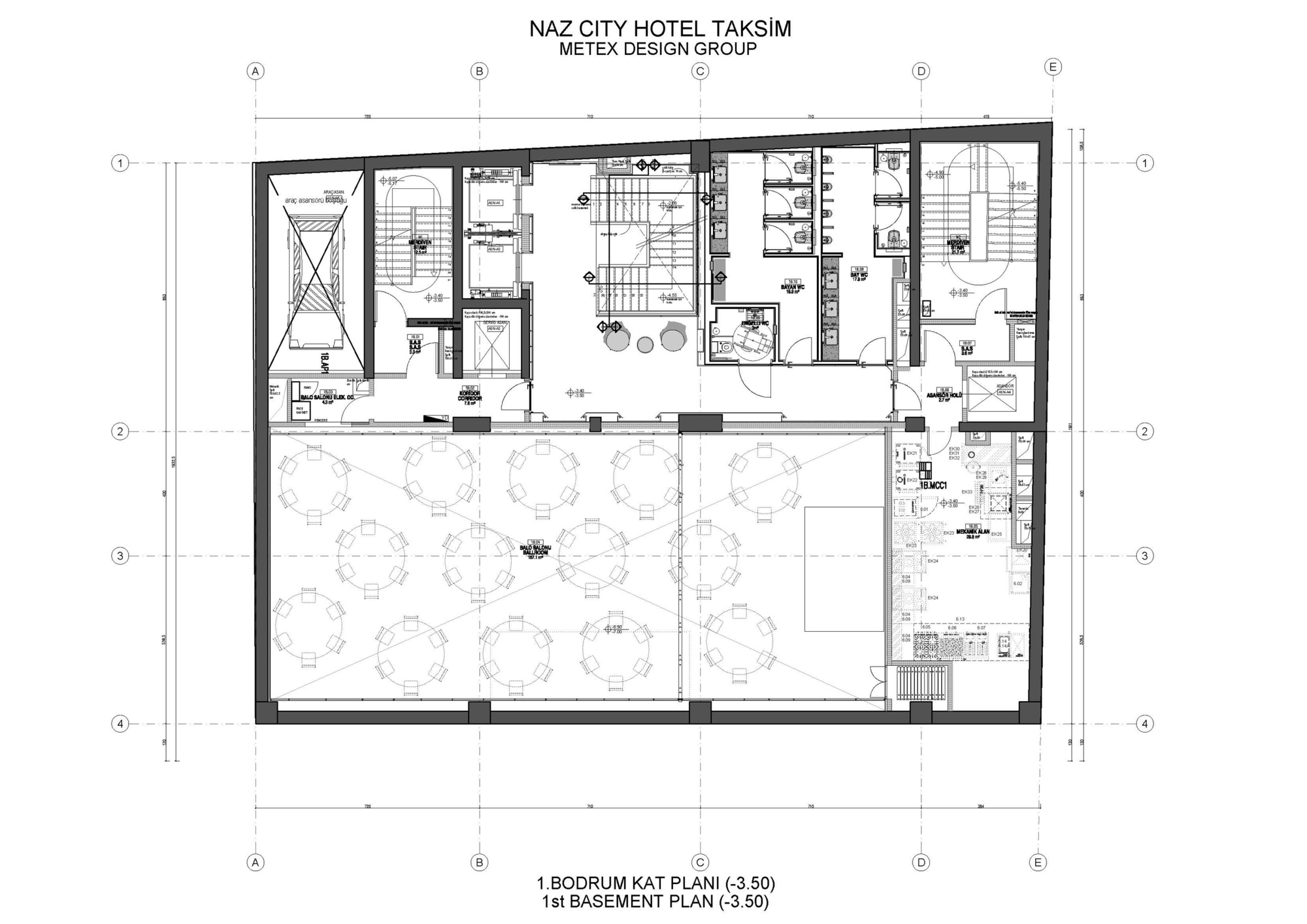 Gallery Of Naz City Hotel Taksim / Metex Design Group
