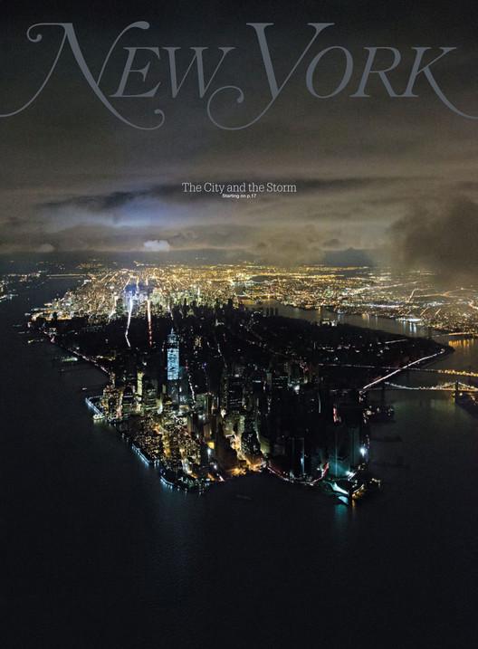 Cover of New York Magazine, November 12, 2012. Image © Iwan Baan for New York Magazine