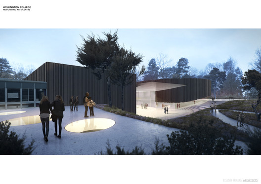 Winner in Education Category. Performing Arts Centre / Studio Seilern Architects in the UK.