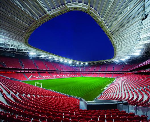 Winner in Sport Category. San Mamés Stadium / Azcárate (ACXT-IDOM) in Spain. Image Courtesy of WAF.