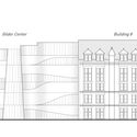 Proposed elevation with existing Museum complex. Image © AMNH/D. Finnin
