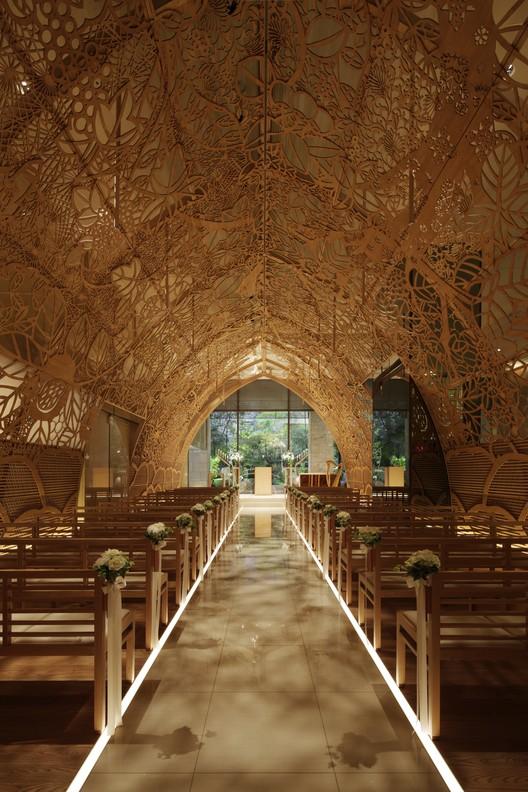 Refurbishment of the Year: ANA Crowne Plaza Hotel, Hiroshima Chapel / Nikken Space Design LTD. Image Courtesy of LEAF International