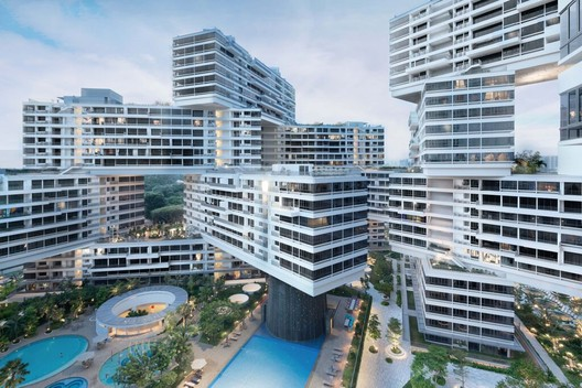 World Building of the Year Winner: The Interlace (Singapore) / OMA and Ole Scheeren. Image © Iwan Baan