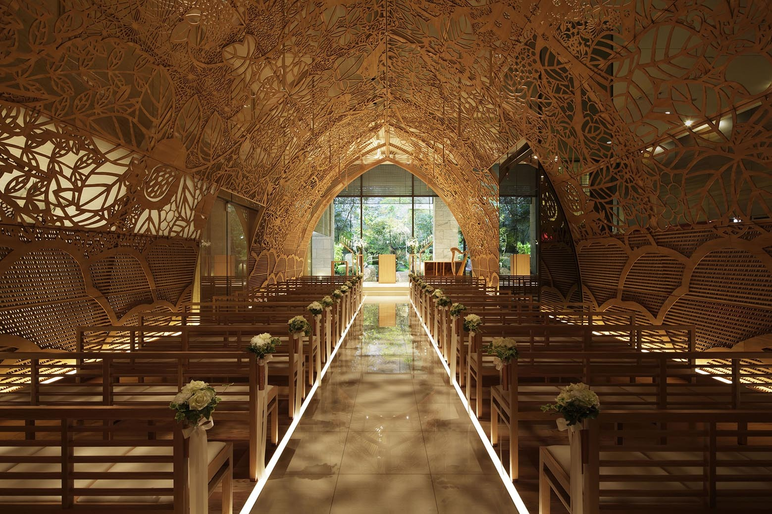 Hiroshima Chapel Nikken Space Design ArchDaily