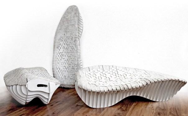 The chaise longue seat. Image Cortesía de Terreform ONE