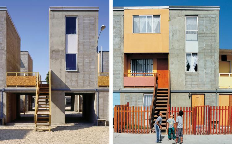 Quinta Monroy (2004) / Iquique, Chile. Image © Cristobal Palma / Estudio Palma