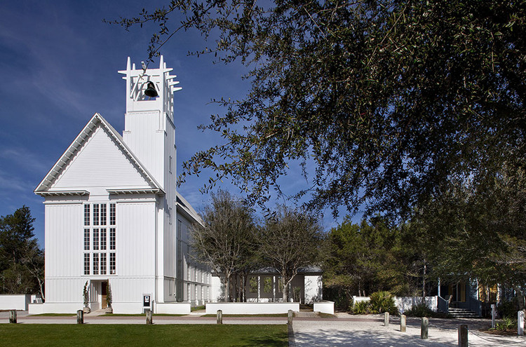 Seaside Chapel. Image via Merrill, Pastor & Colgan Architects