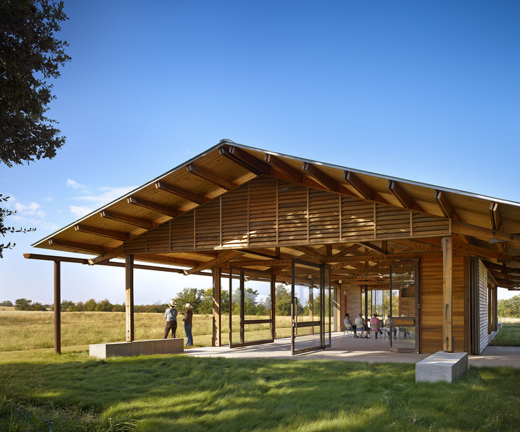 The Dixon Water Foundation Josey Pavilion; Decatur, TX /