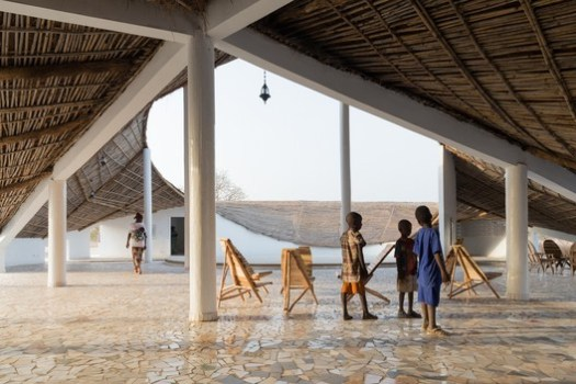 Cultural Center in Senegal (Thread: Artists' Residency + Cultural Center). Image © Iwan Baan