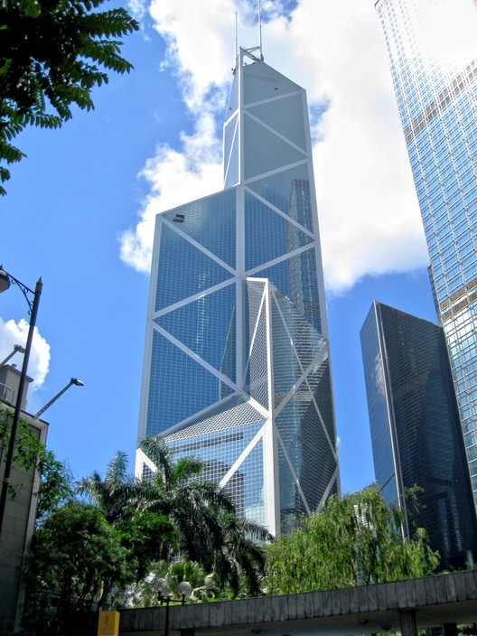 Bank of China Tower. Image © <a href='https://en.wikipedia.org/wiki/File:HK_Bank_of_China_Tower_View.jpg'>Wikimedia user WiNG</a> licensed under <a href='https://creativecommons.org/licenses/by/3.0/deed.en'>CC BY 3.0</a>