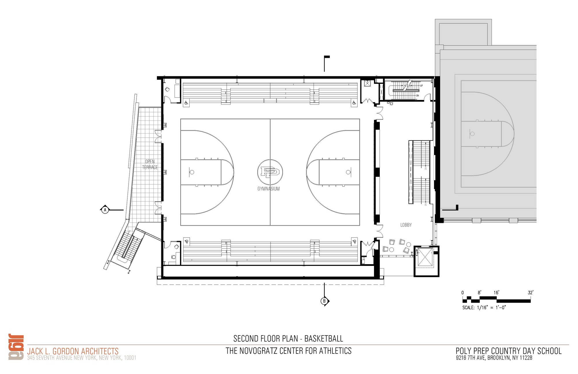 Gallery Of Novogratz Center For Athletics / Jack L. Gordon