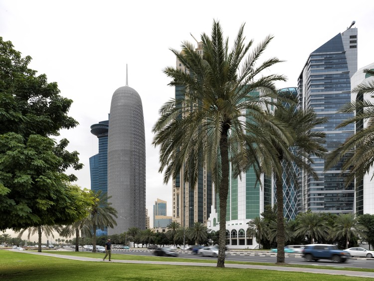 Doha Tower, Doha, Qatar, Ateliers Jean Nouvel. Image Courtesy of The Aga Khan Award for Architecture
