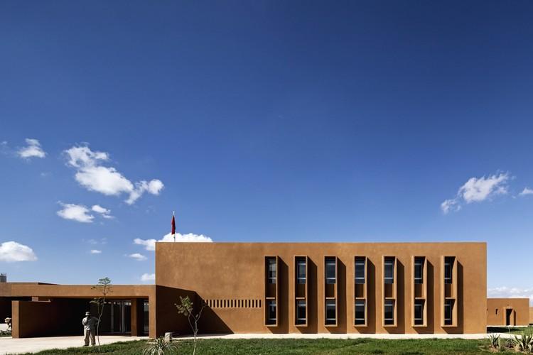 Guelmim School of Technology, Guelmim, Morocco, Saad El Kabbaj, Driss Kettani, Mohamed Amine Siana. Image Courtesy of The Aga Khan Award for Architecture