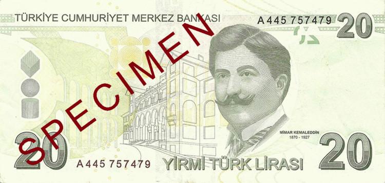 © Turkish Central Bank via Notescollector.eu