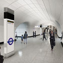 Farringdon Station, Proposed Platform Level Concourse. Image Courtesy of Crossrail
