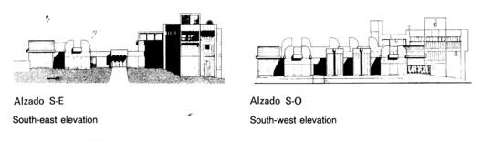 SE & SW Facade/elevation