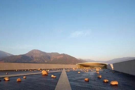 The Winery at VIK. Image © Cristobal Palma / Estudio Palma