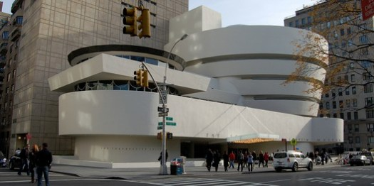 Solomon R. Guggenheim Museum. Image © <a href='https://www.flickr.com/photos/132084522@N05/17207156426'>Flickr user Sam valadi</a> licensed under <a href='https://creativecommons.org/licenses/by/2.0/'>CC BY 2.0</a>