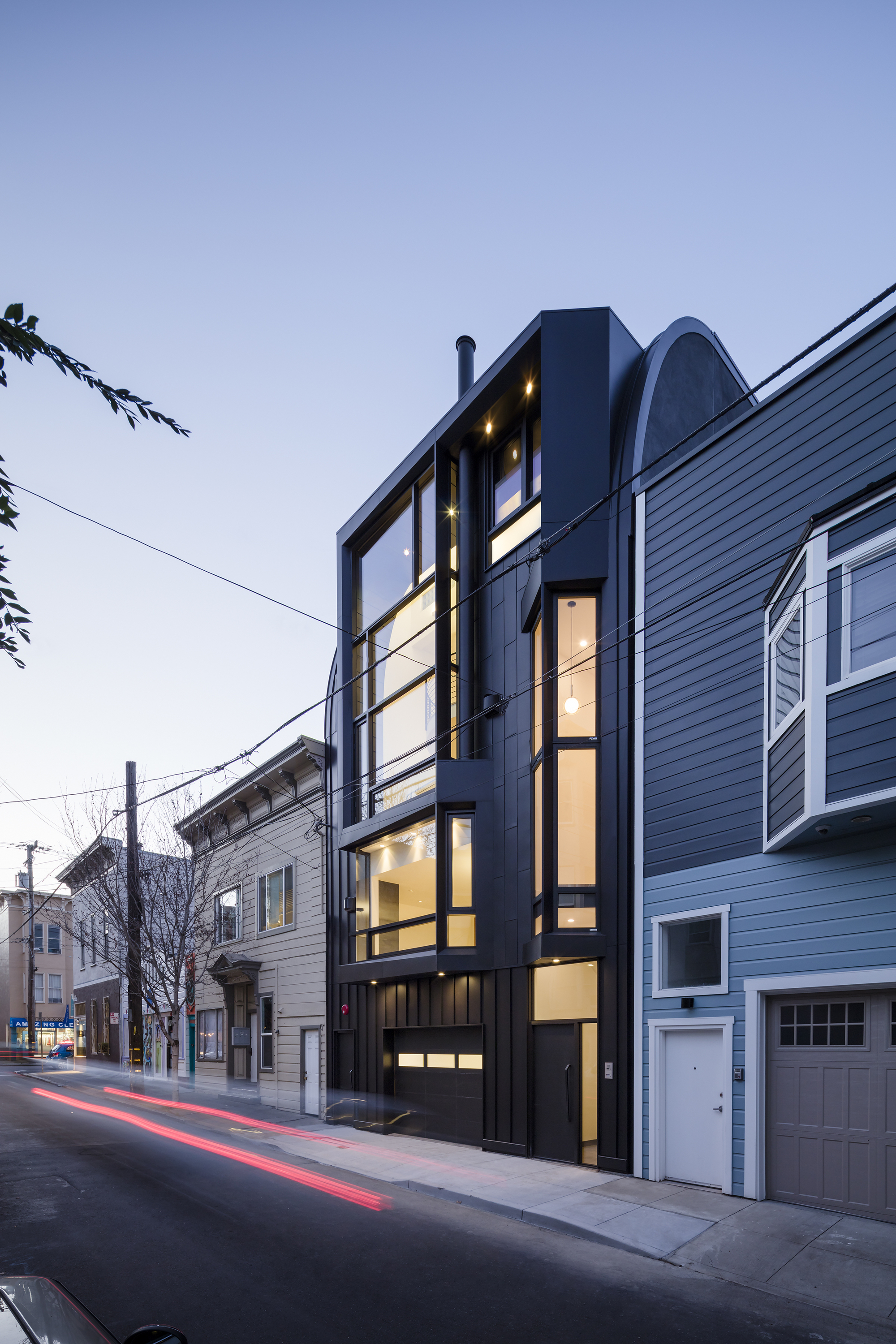 Black Mass Stephen Phillips Architects Archdaily