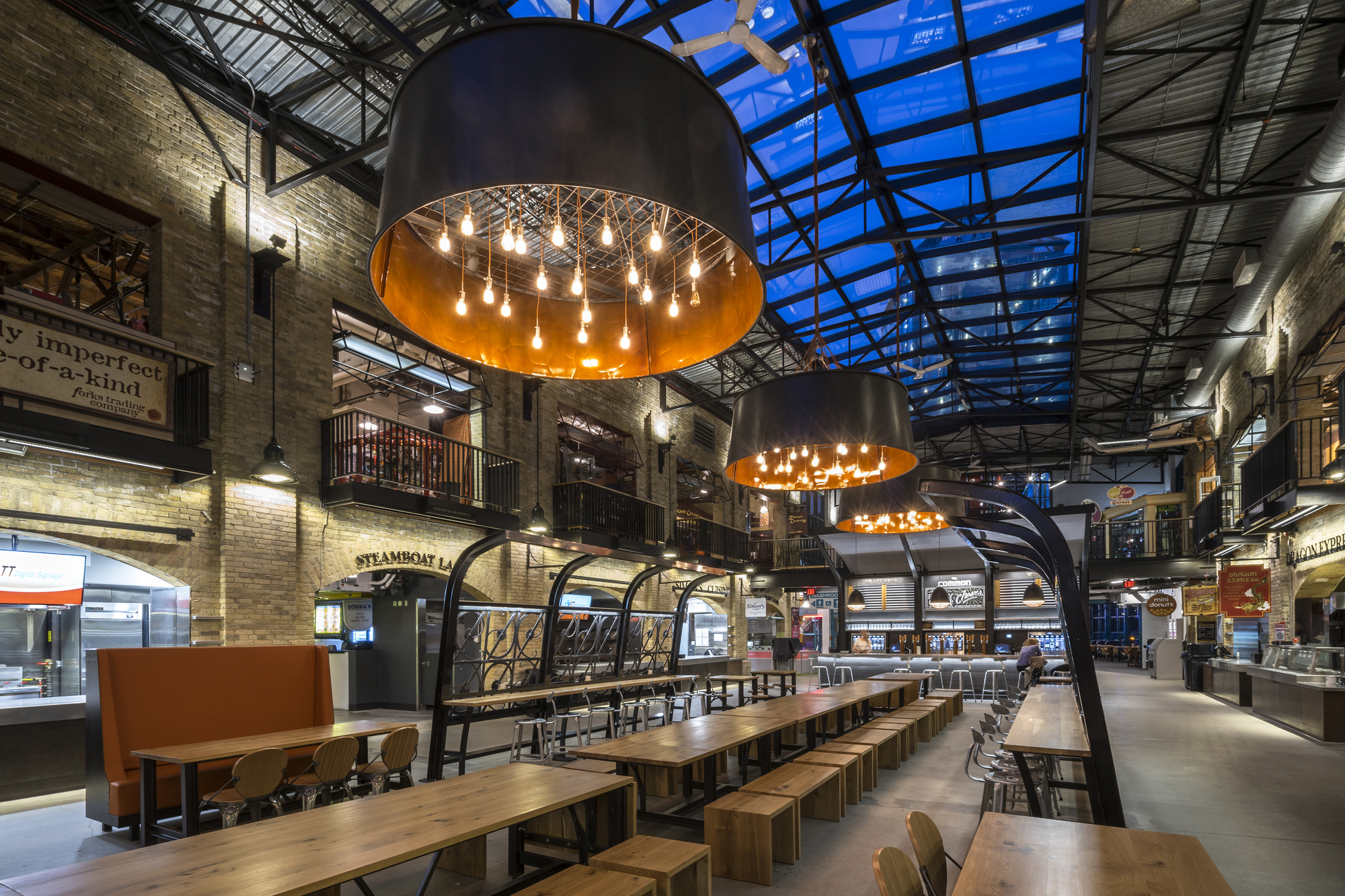Gallery of The Forks Market Food Hall / Number TEN ...