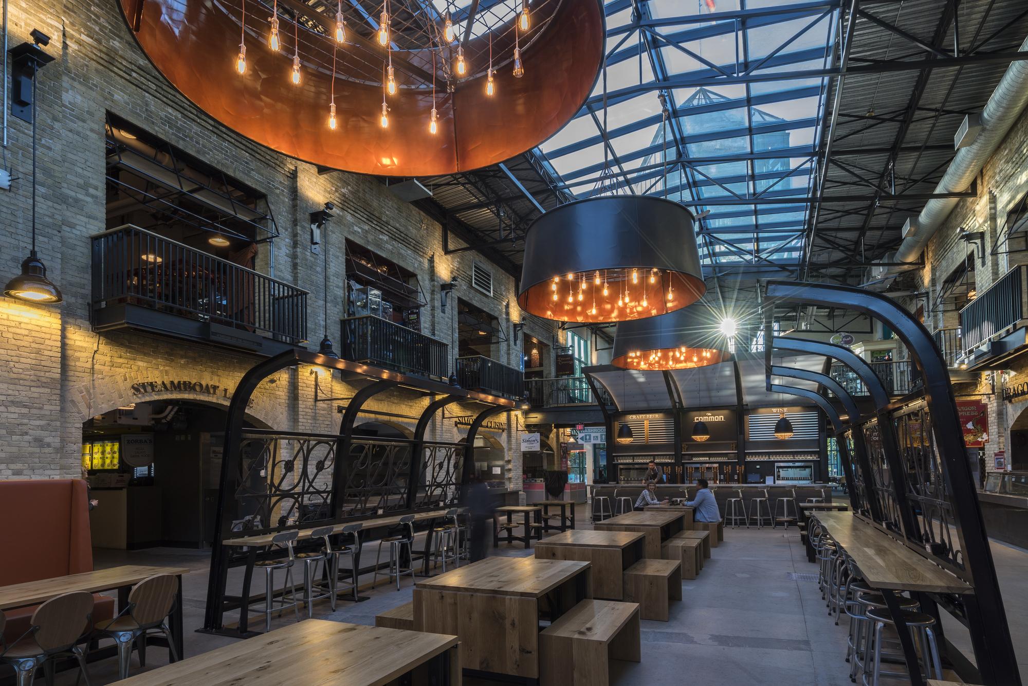 The Forks Market Food Hall / Number TEN Architectural ...