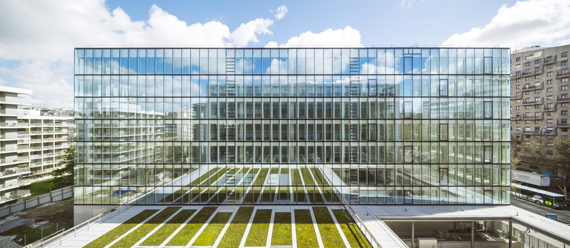 Avenue Leclerc Office Building AZC ArchDaily