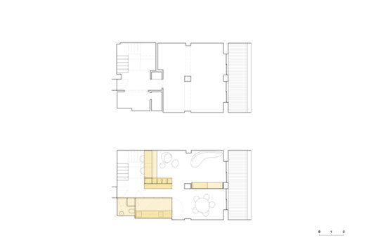 BdR_033_Desenho_01 Apartment on Aveiro Street / Branco-delRio Arquitectos Architecture