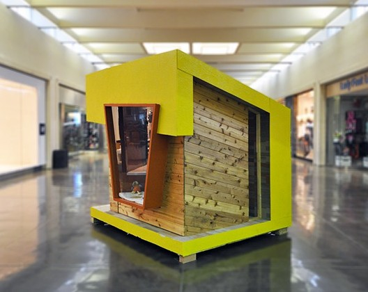 """""""Reading Room"""" Playhouse, Tyler Murph (2015). Image Courtesy of The Life of an Architect"""