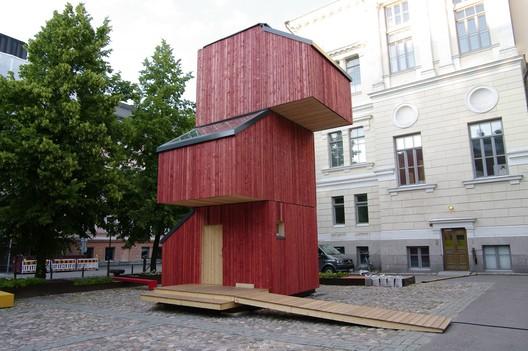 Kokoon (Aalto University School of Arts Design and Architecture). Image © Léa Pfister