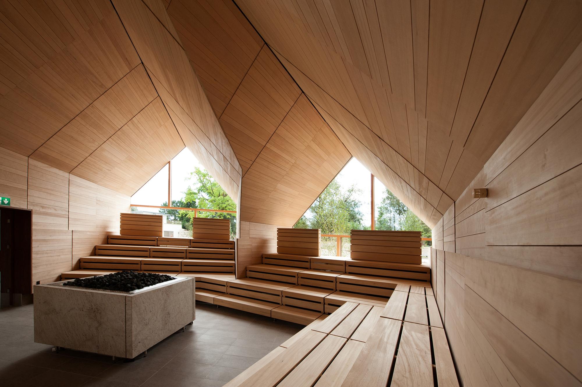 Jordanbad Sauna Village Jeschke ArchitekturampPlanung