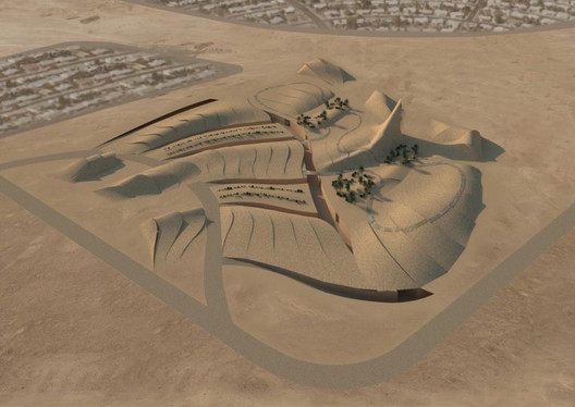2nd Prize: Ngiom Partnership. Image via Bibliotecha Alexandrina / International Architectural Competition of the Science City