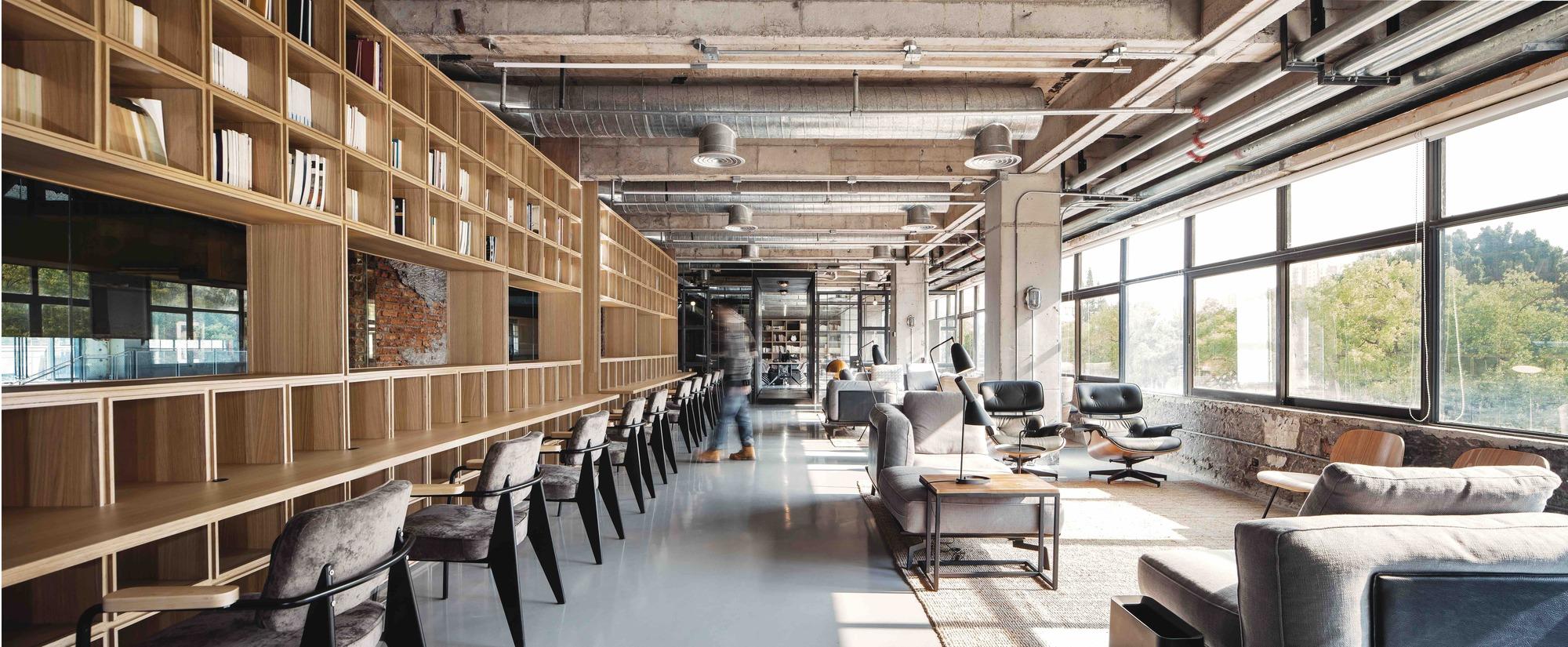 Flahalo Office Renovation Atelier LI ArchDaily