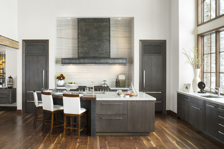 """The World's Most Prominent Kitchen Design Contest Is Now Accepting Entries, """"Mountain Bliss"""" designed by Mikal Otten, Exquisite Kitchen Design, Denver, CO. First Place award for Transitional style, 2013-2014 Kitchen Design Contest. Image Courtesy of Sub-Zero and Wolf"""