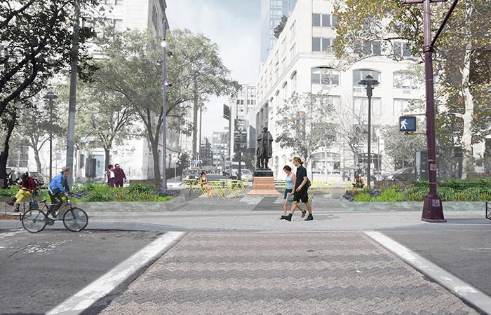 SoHo Square / Mathews Nielsen Landscape Architects. Image Courtesy of Mathews Nielsen