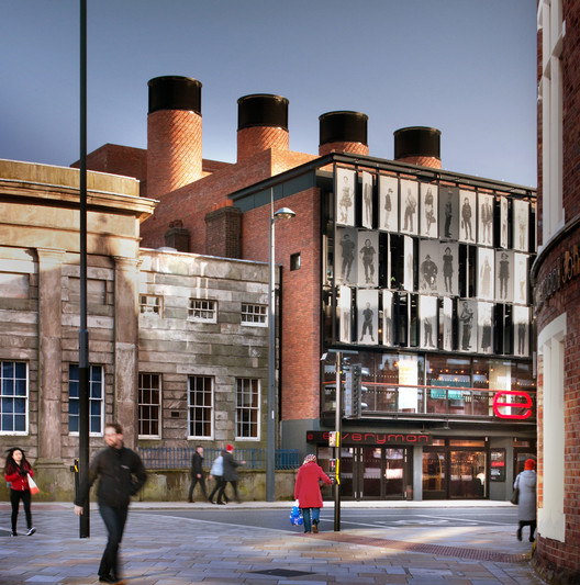 <a href='http://www.archdaily.com/504031/everyman-theatre-haworth-tompkins'>Everyman Theatre, Liverpool / Haworth Tompkins</a>. Image © Philip Vile