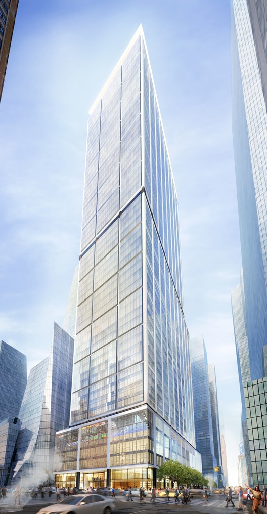 50 Hudson Yards and 10th Avenue. Image Courtesy of Related-Oxford