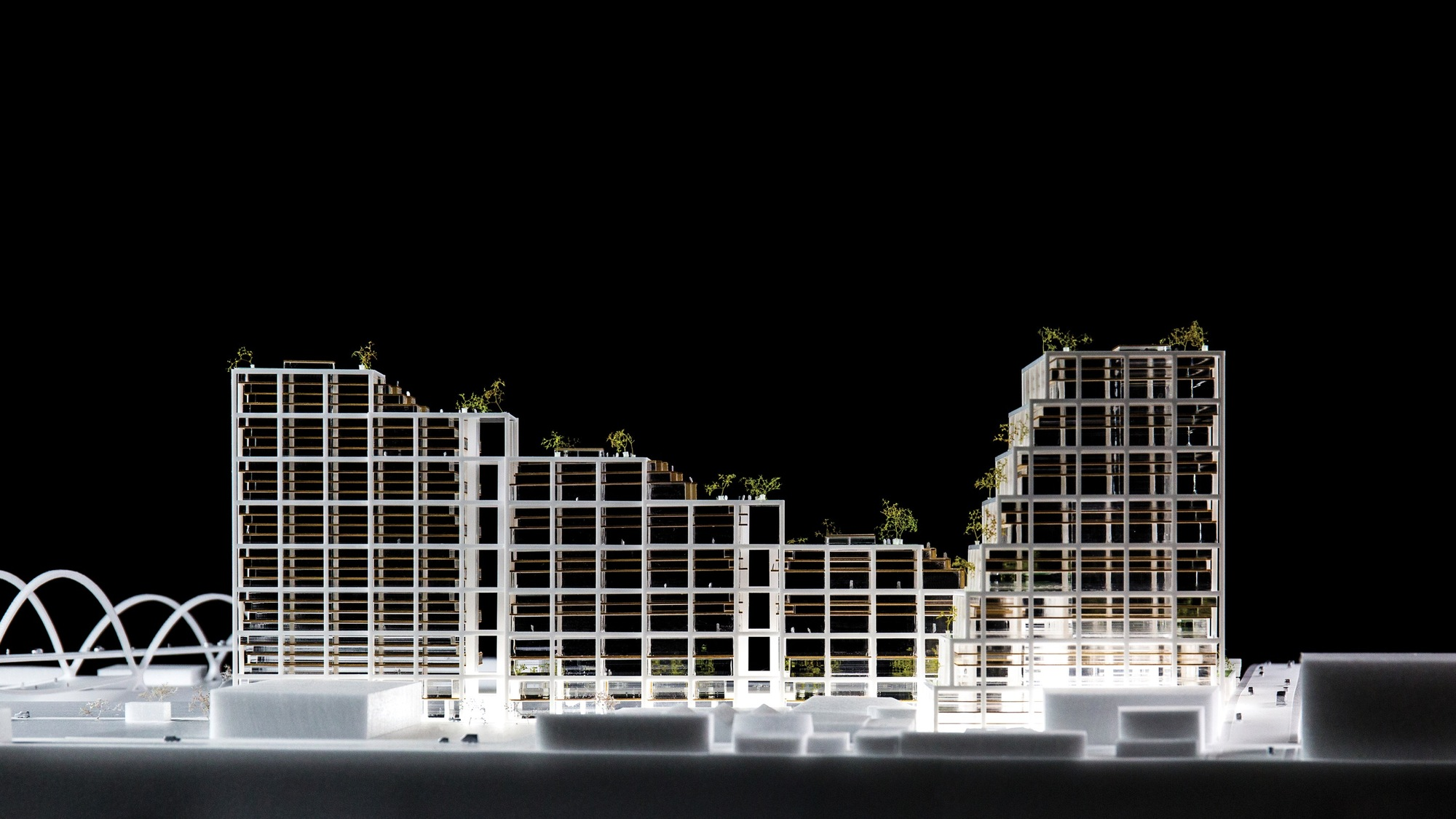 Gallery Of Big Unveils Mixed Use Concrete Superstructure