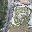 Aerial photo. Image © Courtesy of ZHUBO DESIGN