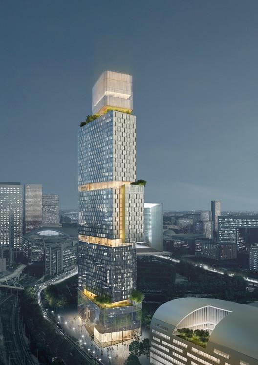 Ateliers 2/3/4/ Unveils Paris Garden Tower, Courtesy of Ateliers 2/3/4/