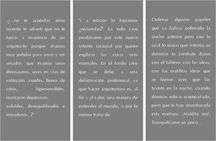 Ficciones: tres cuentos. Image © Delia Esperanza