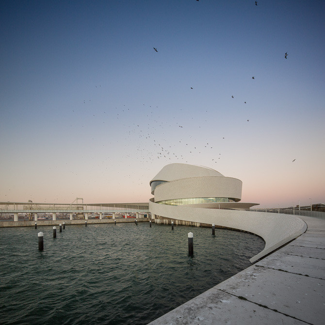Winner in the Public Architecture Category. Leixões Cruise Terminal / Luís Pedro Silva Arquitecto. Image © Fernando Guerra | FG+SG