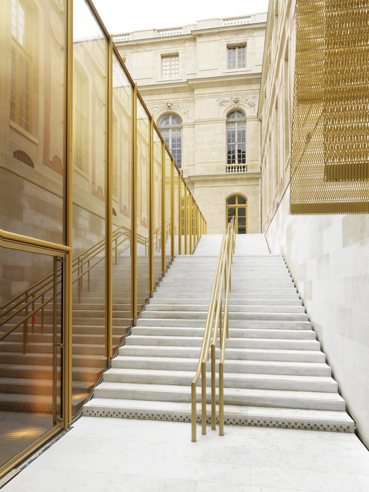 Winner in the Best Applied Product Category. Refurbishment of the Pavilion Dufour Château De Versailles / Dominique Perrault Architecte. Image © Andre Morin