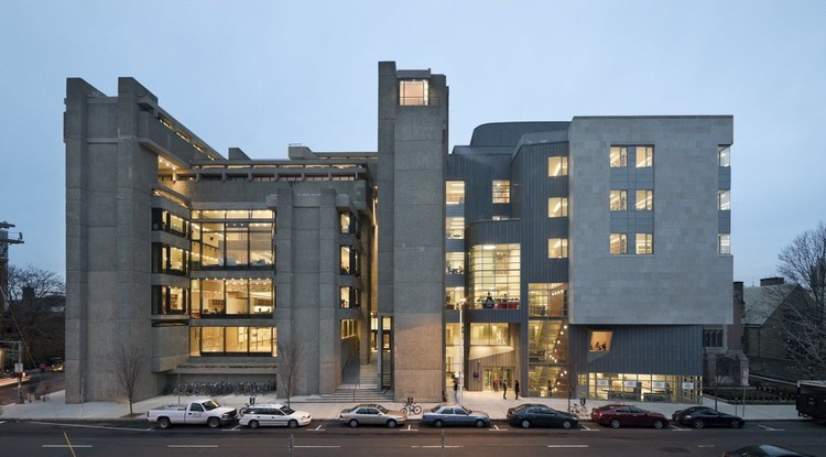 New Survey Confirms Architecture as Most Time Consuming Major, Yale Art + Architecture Building / Paul Rudolph + Gwathmey Siegel & Associates Architects. Image Courtesy of gwathmey siegel & associates architects