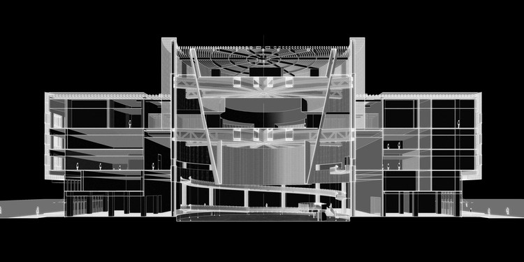 Planning Pavillion Perspective Section